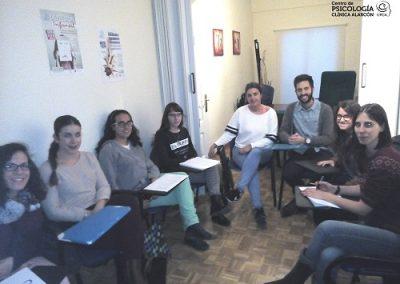 Sesiones Clínicas. Centro de Psicología Clínica Alarcón